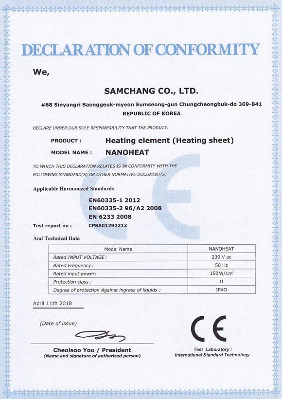 LARX CARBON-FILM.COM Certifikát