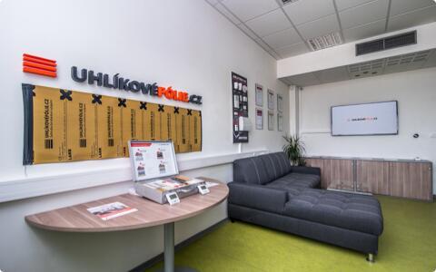 Vývojové centrum, kancelárie ashowroom LARX