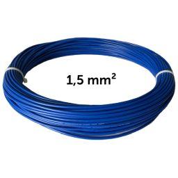 Vodič modrý 1,5mm², návin 50m