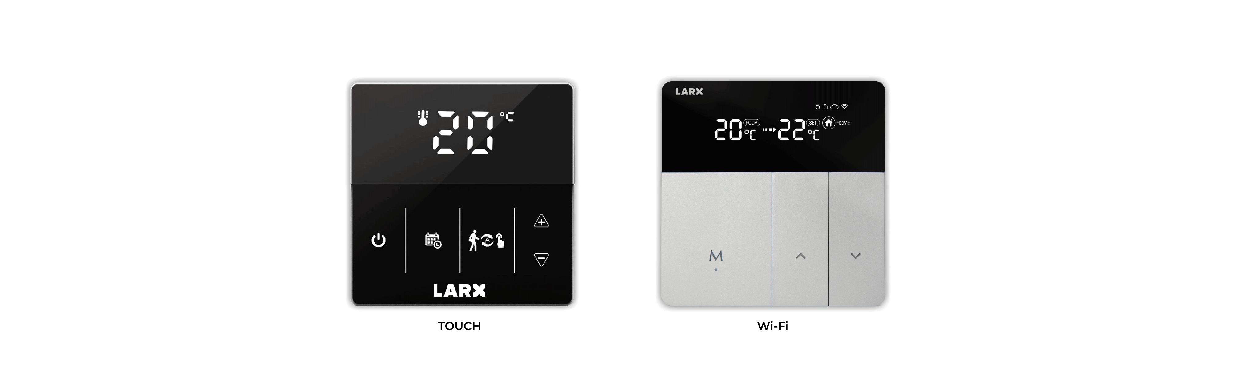 LARX termostat pre efektívnu reguláciu